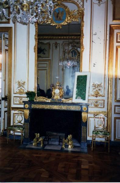 l'Hotel de la Marine -Paris- restauration, installation avec intérieur fonte