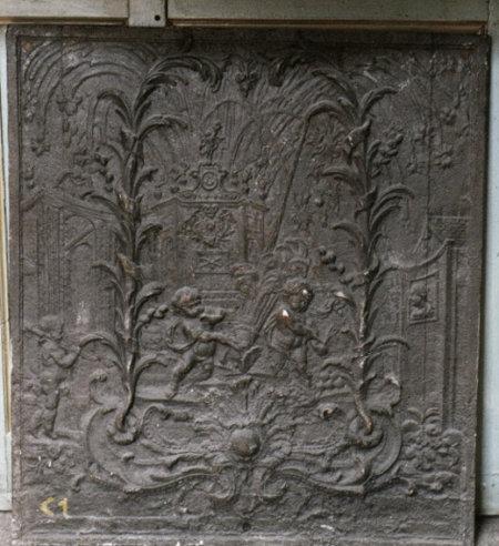 Feux d'artifices à Fontainebleau 72 x 72