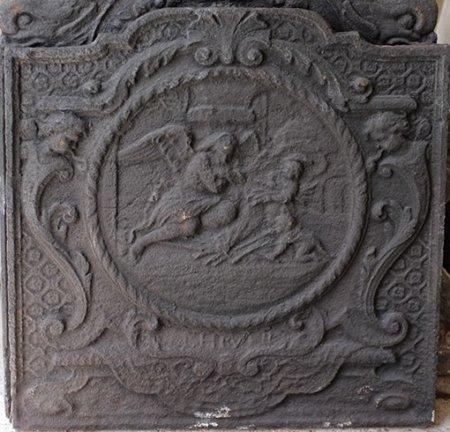 Fonte L XIV; La venue de l'ange L 70x70