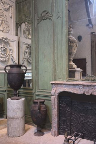 Incroyable Cheminée Ancienne Du0027époque L XV Pierre De Paris L 185 X H 122,5 Cm
