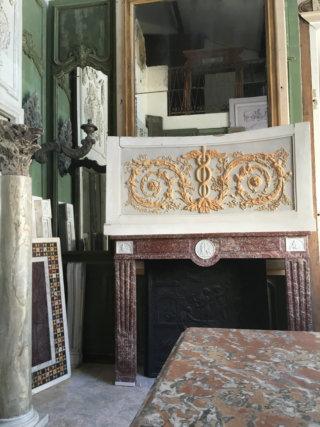 cheminées anciennes boiseries